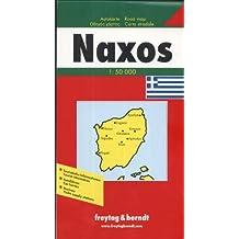Freytag Berndt Autokarten, Naxos (Carte Routière)