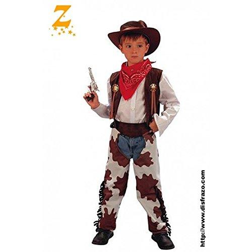 Fyasa 701549-T02 - Disfraz de Vaquero para 7 a 9 años,, tamaño Mediano