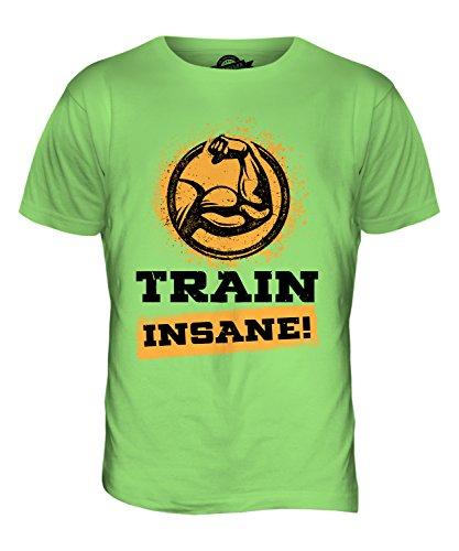 CandyMix Fitness Train Insane Herren T Shirt Limettengrün