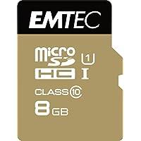 Emtec ECMSDM8GHC10GP Micro SDHC Class 10 UHS-I U1 8192