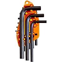 MINTCRAFT TW-050-03 1 1 1 Short Arm Hex Key Set Met, 10-Piece - Mets Arms