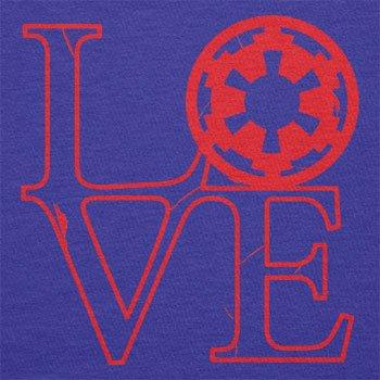 Texlab–Empire Love–sacchetto di stoffa Marine