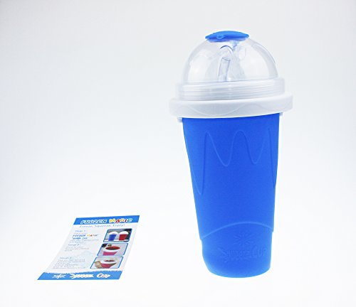 Squeeze Cup Slushy Maker - Magic Becher Slushy Eis zum selbst machen - Blau [ARTUROLUDWIG]
