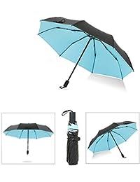 Paraguas Paraguas de protección Solar Parasol Ultraligero Paraguas Anti-UV Hombres y Mujeres
