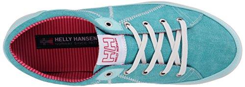 Helly Hansen - W LATITUDE 92, Scarpe da ginnastica Donna Multicolore (Azul / Blanco (252 Aquamarine / Off White / L))