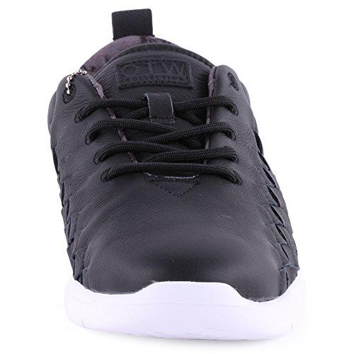 Vans Uomo Tesella scarpe sportive Nero