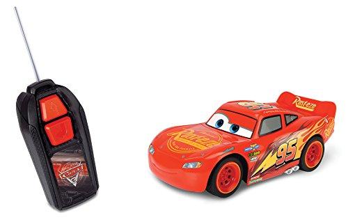 Majorette - Disney - Cars 3 - Flash Mc Queen - Voiture Radio Commandée - Echelle 1/32 - 213081000