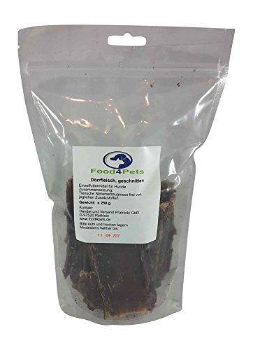 Kausnacks für Hunde Mix 2 – Ochsenziemer,Geflügelmägen,Rindernackensehne und Dörrfleisch Mix – im praktischen wiederverschließbaren Beutel - 5