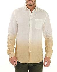 Jack & Jones Mens Casual Shirt (5712617517226_Beige_S)