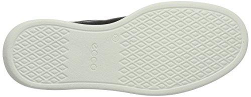 ECCO - Ecco Soft 4, Scarpe stringate Donna Schwarz (50669BLACK/WHITE)