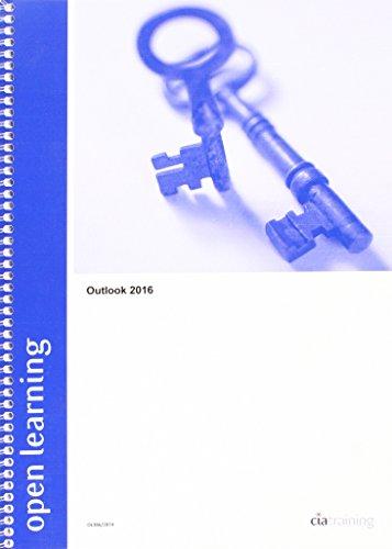 Open Learning Guide for Outlook 2016 por Cia Training Ltd