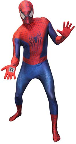 Amazing Spiderman 2 Adult Costume Morphsuit Small