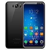 V · Mobile S8 ha uno schermo da 5,8 pollici e uno schermo 18: 9. Sia che tu stia guardando un film o acquisti su una pagina web, hai una visione più ampia rispetto a un telefono 16: 9. NOTA: prima di avviare il telefono, per prima cosa stacca...