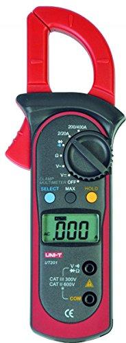 UNI-T UT201/MIE0067 AC 2A ~ 400A Digitale Zangen Multimeter AC/DC Spannungsprüfer AC Strom Widerstand/Ohm M Tester Auto Range