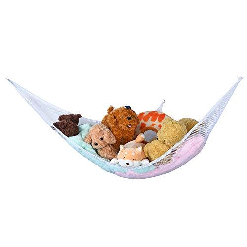 Bescita Spielzeug Hängematte Netz für Kuscheltiere Spielzeug Aufbewahrung für Kinderzimmer Jumbo...