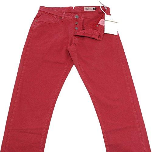 40703 pantaloni SIVIGLIA WHITE jeans uomo trousers men [32]