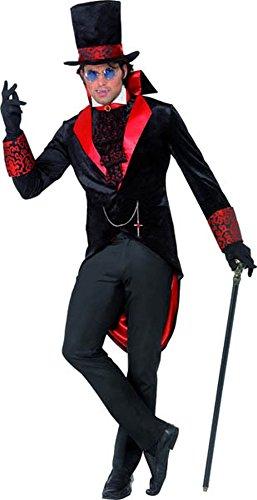 50's Kostüme Men's Halloween (Dracula-Kostüm für Herren zu Halloween, Men:)