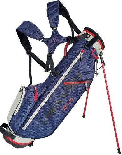 Big Max Golf Standbag Heaven SIX Navy-Silver-red