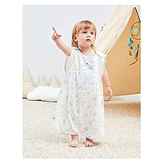 Vandesun – Saco de dormir para bebé (2,5 tog, 2 capas, unisex, para recién nacidos, de 0 a 3 años, diseño de conejo, oveja, coche y oso de dibujos animados (3 estilos)