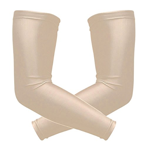 Alaza Kühlung Arm Sleeves Abdeckung UV-Sonnenschutz für Herren Damen Running Golf Radfahren Arm Warmer Ärmel 1Paar