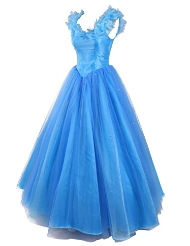 Fanciest Damen Cinderella Quinceanera Dresses Ball Kleider Sweet 16 Ball Kleider Blue Purple