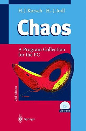 CHAOS. : A program collection for the PC, with 250 figures, many numerical experiments and CD-ROM for Windows 95 and NT, 2nd edition par H.J. Korsch