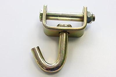 Wirbelhaken Spitzhaken Einfingerhaken für 50 mm Spanngurte Ladungssicherung