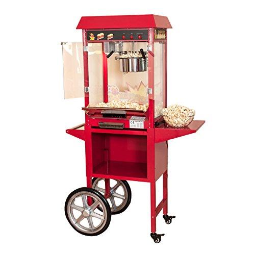 XXL Popcornmaschine mit Wagen