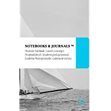 Notenpapier A5 Notebooks & Journals, Segelboote (Vintage-Kollektion), Large: (Musiknotizbuch, Musiknotenheft, Notenblock, Notenheft) Soft Cover (13.97 x 21.59 cm)