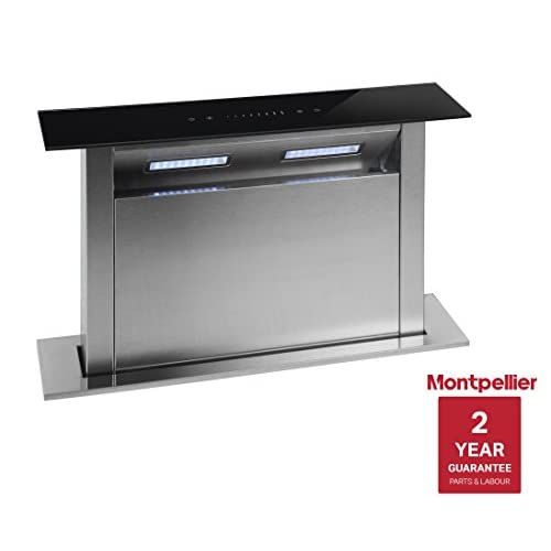 41WsLyDSJXL. SS500  - Montpellier DDCH60 60cm Downdraft Extractor Fan Cooker Hood Black