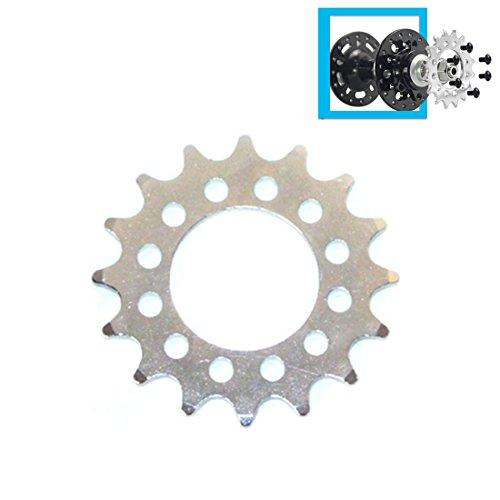 16T Fixed Gear für Fahrrad-Scheibenbremse Befestigungsschrauben-feste Kettenrad 6 Schraube Disc-Nabe konvertieren, um Zahnrad einzeln zu drehen Fixed Cog