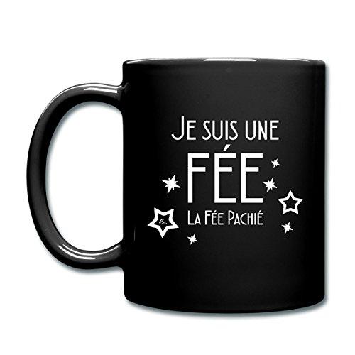 Spreadshirt Je Suis La Fée Pachié Mug uni, noir