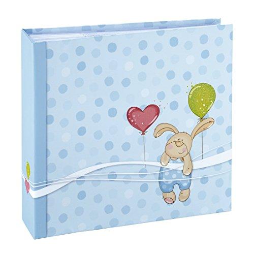 Hama Kleiner Hase Einsteck/Memo 10x15 200 Fotos blau Baby 2264