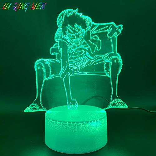 3D LED Nachtlicht Affe D Road Fly Abbildung Raumdekoration Helle Basis Farbwechsel Kinder Atmosphäre Kind Geburtstagsgeschenk -