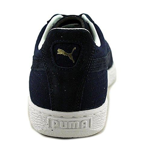 Puma States Woven Daim Baskets Insignia Blue-Metallic Gold