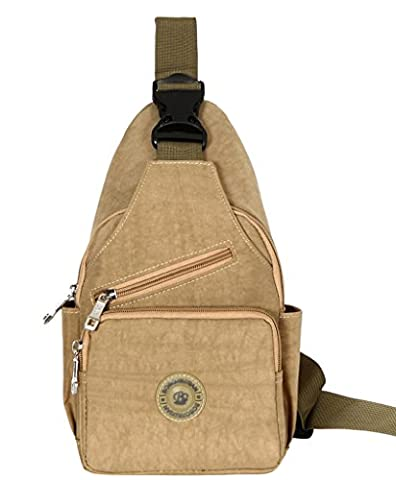 La Vogue Adult Outdoors Camping Hiking Cross-body Sling Bag Shoulder