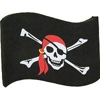 Pirate Flag Car Aerial Ball Antenna Topper - FLAG