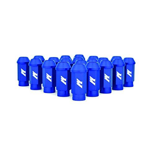 Mishimoto MMLG-125-LOCKBL Aluminium Locking Lug Muttern, M12x 1,25, Blau