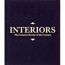 Interiors: The Greatest Rooms of the Century (Velvet Cover Color is Midnight Blue, 1 of 4 available colors – see below for more detail)