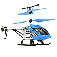 EACHINE Mini Helicopter, Tracker H101 3.5Channels RC Helicopter With Gyro Remote Controlled Rechargeable Airplane Drone for Beginner RTF