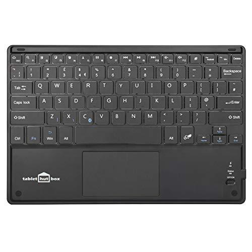 ess UK QWERTY Tastatur mit Maus Touchpad für Samsung Galaxy Tab A2 und S4 26,7 cm (10,5 Zoll) Geräte ()