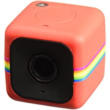 Polaroid Cube+ 1440P LIVE STREAMING - Fotocamera di piccole dimensioni, perfetta per filmare attività dinamiche, con Wi-Fi e stabilizzazione dell'immagine (Rosso)