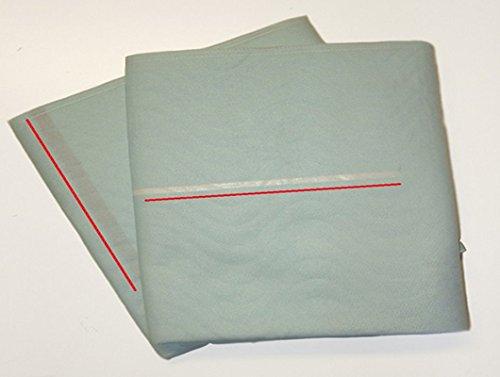 Welpen/Hunde/Trainings - Unterlagen ideal für die Aufzucht, passend für Hundekörbchen oder im Auto waschbar -Castejo - 4er Paket 2.Wahl beige oder blau-weiß,grün/blau kochfest und trocknergeeignet