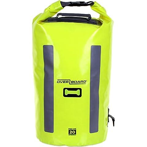 Overboard impermeabile Pro-Vis–Tubo bag-Orange, 20litri, uomo, Hi Vis Yellow, Taglia unica - Heavy Duty Ruvida