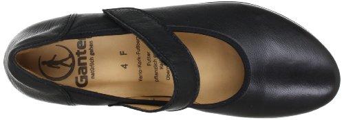 Ganter Fiona, Weite F 5-205431-01000 Ballerine Da Donna Nere (nero 0100)
