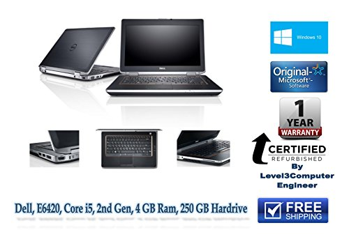 Best Price Professionally Refurbished Cheap Dell Latitude E6420 window 10 Laptop, with one Year Warranty (RTB) By Level3Computer Reviews