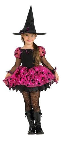 Moonlight Zauberhafte Hexe - Halloween - Kinder-Kostüm - Medium - 132cm (Zauberhafte Hexe Kind Kostüme)