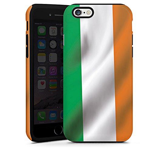 Apple iPhone 4 Housse Étui Silicone Coque Protection Irlande Drapeau Drapeau Cas Tough terne