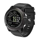orologio digitale Smart Watch Orologio Fitness Cardiofrequenzimetro da Polso Smart Watch Fitness Activity Tracker Pedometro Orologio Sport per Donna Uomo per Telefoni Android e iOS (Nero)