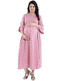 af17d63bb103d Cotton Maternity Dresses: Buy Cotton Maternity Dresses online at ...